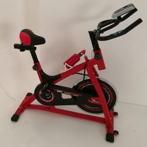 Compact Spin Bike with Magnetic Resistance